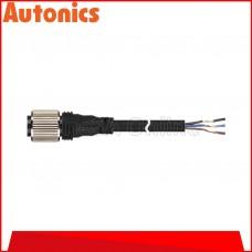 AUTONICS SENSOR CONNECTOR CABLE, SOCKET TYPE ~ DC 3 WIRE ~ 2M CABLE, (CID3-2)