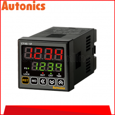 AUTONICS COUNTER/TIMER, 24VAC/24-48VDC, (CT4S-1P2)