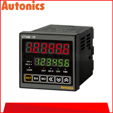 AUTONICS COUNTER/ TIMER, 100-240VAC ~ 50/60HZ, (CT6M-1P4)