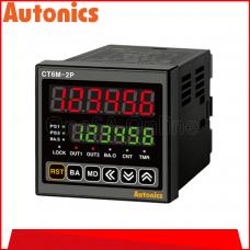 AUTONICS COUNTER/TIMER, 100-240VAC ~ 50-60HZ, (CT6M-2P4)