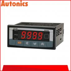 AUTONICS DIGITAL PANEL METER, 4 DIGIT ~ DC AMPERE METER ~ 100-240VAC, (MT4W-DA-4N)