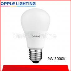 OPPLE ECOMAX1 LED BULB, 9W ~ 3000K, (OP-A60-E1-9W-3000)