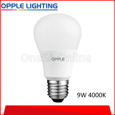 OPPLE ECOMAX1 LED BULB, 9W ~ 4000K, (OP-A60-E1-9W-4000)