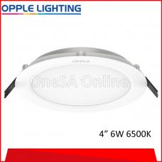 OPPLE LED DOWNLIGHT UTILITY, R100 ~ 6W ~ 6500K, (OP-DL-U1-R100-6W-6500/DL)