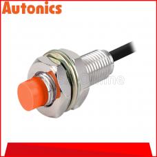 AUTONICS PROXIMITY SENSOR M12, 12-24VDC ~ 2MM ~ DC3 WIRE ~ PNP NO, (PR12-2DP)