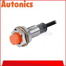 AUTONICS PROXIMITY SENSOR M12, 12-24VDC ~ 4MM ~ DC3 WIRE ~ PNP NO, (PR12-4DP)