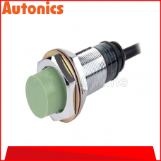 AUTONICS PROXIMITY SENSOR M18, 100-240VAC ~ 8MM ~ AC2 WIRE ~ N/OPEN, (PR18-8AO)