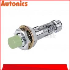 AUTONICS PROXIMITY SENSOR M12, 12-24VDC ~ 4MM ~ DC3 WIRE ~ NPN NO, (PRCM12-4DN)