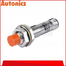 AUTONICS PROXIMITY SENSOR M12, 12-24VDC ~ 4MM ~ DC3 WIRE ~ PNP NO, (PRCM12-4DP)