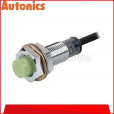 AUTONICS PROXIMITY SENSOR M12, 12-24VDC ~ 4MM ~ DC2 WIRE ~ N/OPEN, (PRT12-4DO)