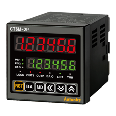 Programmable Counters. 6 digit, 100-240VAC