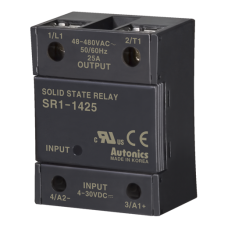 Solid State Relays. 25A, 48-480VAC
