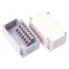 Terminal Block Box. Sort- 6PH