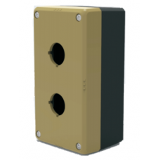 22/25MM Control Button Box- Two Hole Box