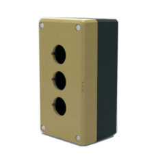 22/25MM Control Button Box- Three Hole Box