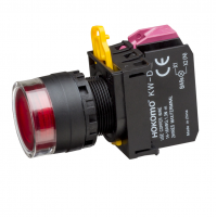 Ø22/25mm Illuminated Push Button Flush