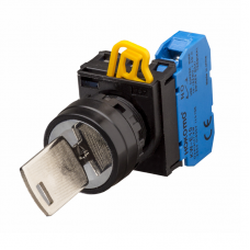 Ø22/25mm Key-operated Switches. 90° 2-Position