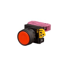 Ø22/25mm Push Button Flush, Momentary