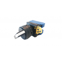 Ø22/25mm Selector Switches, 45° 3-Position