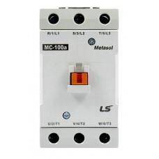 LS AC Contactor (Metasol),  55KW/75HP 105A 1NO+1NC