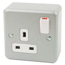 MK 1 Gang 13A Socket Outlet (Switched)